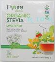 Pyure オーガニックステビアスイートナー Organic Stevia Sweetener 300袋(300g) 有機甘味料/シュガーフリー