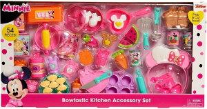 ミニーマウス キッチンアクセサリーセット 54ピース おままごとセット プレイフード Bowtastic Kitchen Accessory Set ディズニージュニア