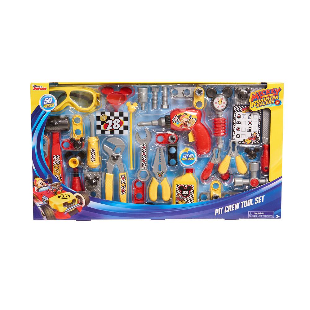 ディズニー ミッキー ロードスターレーサーズ ピットクルーツールセット50ピース ピットクルーなりきりセット MICKEY AND THE ROADSTER RACERS