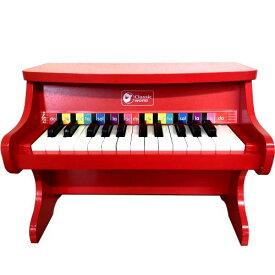 【送料無料】Classic world Star Piano クラシックワールド アップライト スターピアノ/ミニピアノ レッド/ホワイト