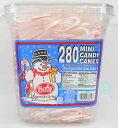 【280個入り!】Bob's ミニキャンディーケイン ペパーミント味 クリスマス/キャンディケーン/キャンディケイン/ボブズ