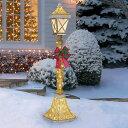 【送料無料】LED クリスマス街灯 約182cm LED120球付き 屋内外用/street lamp/クリス...