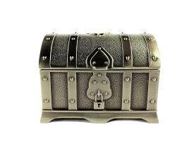 ジュエリーボックス ドラクエ風 装飾 宝箱 アンティーク (ゴールド) レトロ 海賊 アクセサリー 収納