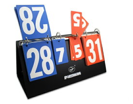 ハンディ 携帯式 スコアボード 組み立てカンタン (赤&青) 卓球 バレーボール ビーチバレー サッカー ピンポン バドミントン
