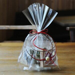 ギフト用: ティーバッグ ・ミニサイズ(3種類) 【袋入りラッピング済】 | ルイボスティー ルイボスティ ルイボス茶 ルイボス オーガニック 有機 ティーバック ティーパック ノンカフェイ