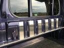 S500P/S510P用 ハイゼットジャンボ キャビンバックパネル上カバー(ステンレスヘアライン)