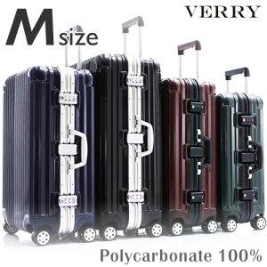 スーツケース M サイズ 高級PC100%ボディ 中型 高品質 ワイドフレーム ダブルキャスター ダイヤルロック TSA スーツケース キャリーケース キャリーバッグ ハードキャリー ブランド 人気 おす