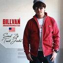 【送料無料】 BILLVAN スウェット ZIP トラックジャケット ビルバン アメカジ