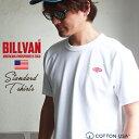 クリックポスト Tシャツ BILLVAN ダイヤロゴワッペン ヘビーTシャツ 190418 ビルバン メンズ
