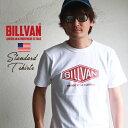 クリックポスト メンズ アメカジ Tシャツ BILLVAN アメリカンスタンダード ダイヤロゴ プリントTシャツ 290113 ビルバン