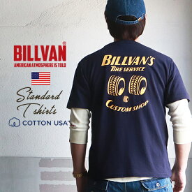 Tシャツ BILLVANS TIRE SERVICEバックプリント ヘビーTシャツ 310345 ビルバン メンズ