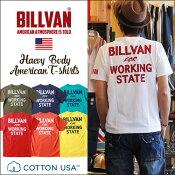 アメカジTシャツBILLVANビルバンアメカジプリント半袖TシャツWORKING726AメンズヘビーウェイトTシャツ