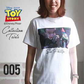 BILLVAN トイ・ストーリー コレクションTシャツ 005シド・フィリップス 白 ビルバン トイストーリー TOYSTORY アメカジ