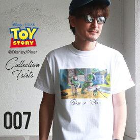BILLVAN トイ・ストーリー コレクションTシャツ バズ&レックス ビルバン トイストーリー TOYSTORY アメカジ
