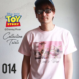 BILLVAN トイ・ストーリー コレクションTシャツ ウッディ・バズ ビルバン TOY STORY トイストーリー