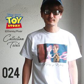BILLVAN トイ・ストーリー コレクションTシャツ ボー・ピープ&ウッディ ビルバン トイストーリー TOYSTORY アメカジ