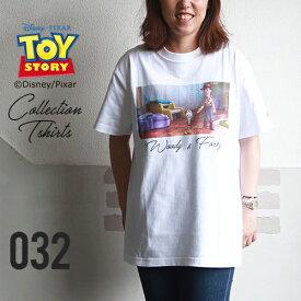 BILLVAN <トイ・ストーリー> コレクションTシャツ / ウッディ&フォーキー TOYSTORY トイストーリー ビルバン アメカジ
