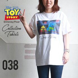 BILLVAN <トイ・ストーリー> コレクションTシャツ / ダッキー&バニー TOYSTORY トイストーリー ビルバン アメカジ