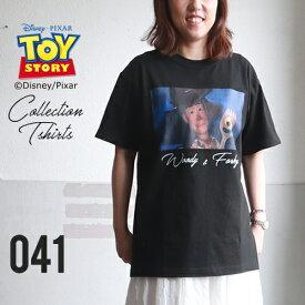 BILLVAN <トイ・ストーリー> コレクションTシャツ / ウッディ&フォーキー トイストーリー TOYSTORY ビルバン アメカジ