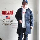 【スーパーSALE】BILLVAN 高密度ツイル ショップコート ワークスタイル ビルバン アメカジ メンズ
