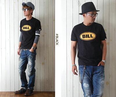 TシャツBILLVANアメリカンスタンダードBILLプリントTシャツ/28130