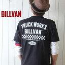 Tシャツ BILLVAN トラックワークス スタンダード バックプリントTシャツ 300308 ビルバン メンズ アメカジ