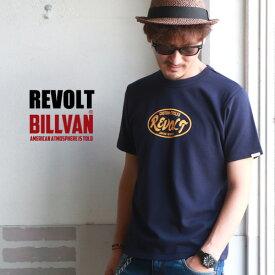 REVOLT CUSTOM CYCLES バックプリント Choppers ヘビーTシャツ BILLVAN RVT-0003 ビルバン アメカジ