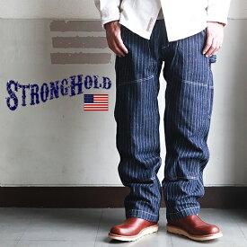 【送料無料】 ワークパンツ STRONG HOLDダブルニー・ペインターワークパンツ ストロングホールド メンズ アメカジ