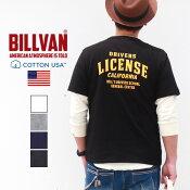 TシャツBILLVANDRIVERSLICENSEバックプリントヘビーTシャツ210325ライセンスビルバンメンズ