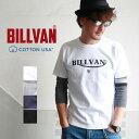 Tシャツ BILLVAN アメリカンスタンダード トラロゴ プリントTシャツ 28131