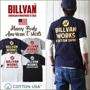 アメカジTシャツBILLVANバックアメリカンワークススタンダードバックプリントTシャツ300305ビルバンメンズアメカジ2018春夏新作