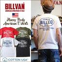 Tシャツ BILLVAN オイル ワークスBILLCO バックプリントTシャツ 300309 ビルバン メンズ アメカジ 2018春夏新作