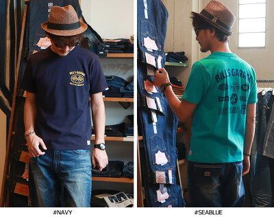 TシャツBILLVANGARAGEスタンダードバックプリントTシャツ300711ビルバンメンズアメカジ
