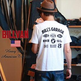Tシャツ BILLVAN GARAGE スタンダード バックプリントTシャツ 300711 ビルバン メンズ アメカジ