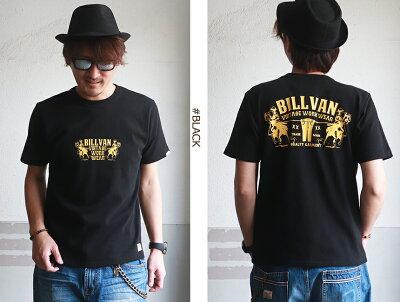 TシャツBILLVANDENIMアメリカンホースヘビーTシャツ310309SSビルバンメンズアメカジ