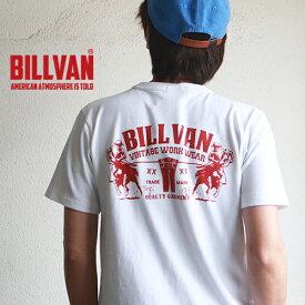 Tシャツ BILLVAN DENIM アメリカンホース ヘビーTシャツ 310309SS ビルバン メンズ アメカジ