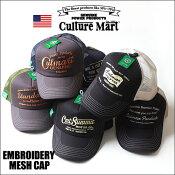 CultureMartアメカジ刺繍ツイルメッシュキャップ全6柄/101282