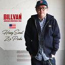 【送料無料】 BILLVAN リバースウィーブ 超ヘビー 裏起毛スウェットZIPパーカー ビルバン アメカジ