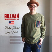 【送料無料】BILLVANネイティブ・ラグポケット・ロングTシャツビルバンアメカジアウトドア