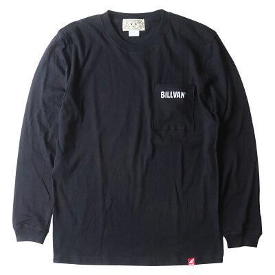 BILLVANスタンダードポケットロングTシャツ袖リブ付きビルバンアメカジ