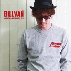 ロンT BILLVAN WORKS ガゼット&リブ付き TOY STORE ヘビーロングTシャツ BV-300314LS メンズ アメカジ