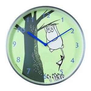 ムーミン掛け時計輸入品ムーミンタイムピーシーズムーミンとニョロニョロ