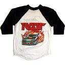 【SALE】【大幅値下げ】【RATT】ラットロック 7分ビンテージTシャツ【中古】