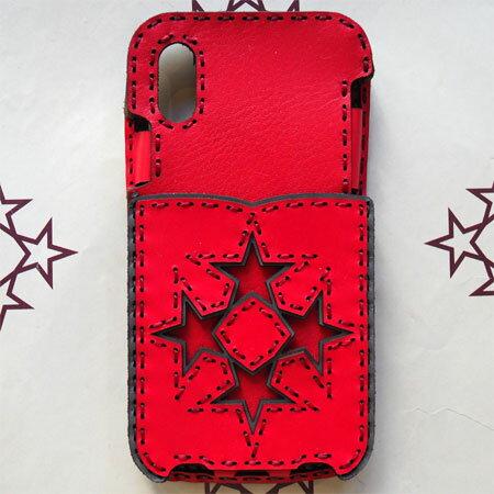 【OJAGA DESIGN】 オジャガ デザインiPhone X/XS ケース OJAGA STARアイフォンケース