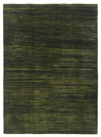 【イラン製】絨毯 ギャッベ ギャベ ペルシャ 約176x232cm 緑 グリーン エントランス リビング 送料無料 新生活 インテリア カーペット マット ラグマット 床暖房 ホットカーペット