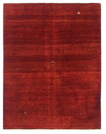 【イラン製】絨毯 ギャッベ ギャベ ペルシャ 約150x194cm 赤 レッド エントランス リビング 送料無料 新生活 インテリア カーペット マット ラグマット 床暖房 ホットカーペット