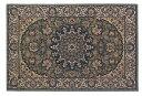 ウール100%モルドバ製ウィルトン織りマット。60x90cm。グリーン。ヨーロッパ東端の国・モルドバで生産された純毛玄関マット。クラシッ…