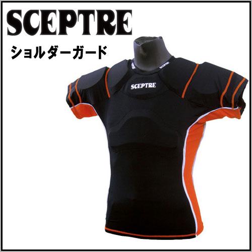 セプター ラグビー用品 ショルダーガード メッシュ伸縮性素材使用 SCEPTRE SP3103