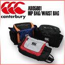 ☆ カンタベリー ラグビー ウエストバッグ HIP BAG AB05801 肩掛けバッグとしても使えるヒップバッグです トレーナーバッグ ブラック ミディアムグ...