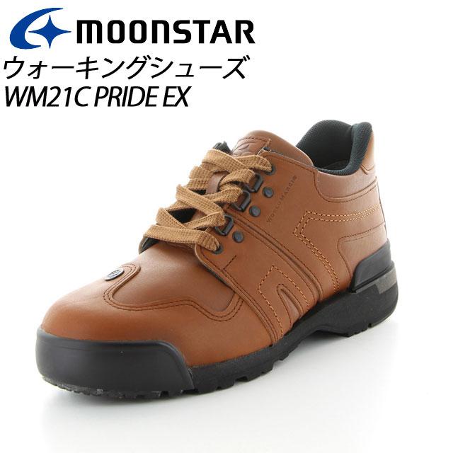 ムーンスター ワールドマーチ プライド メンズ/レディース ウォーキング WM21C PRIDE EX ブラウン ハイスペックウォーキングシューズ MS シューズ